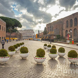 Rene Triay Photography - Roman Colosseum at the End of the Street