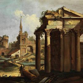 Roman ruinen Capriccio - Giovanni Battista Cimaroli