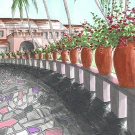 Romantic Garden Walkway