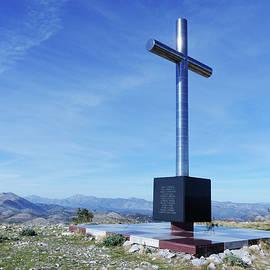 Ronald Brown Memorial Cross by Phil Banks