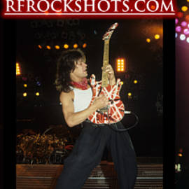 Ronnie James Dio, Eddie Van Halen And Steve Perry by Rich Fuscia