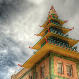 Rooftop Pagoda by Michael Kirk