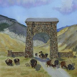 Debra Vance - Roosevelt Arch - Yellowstone