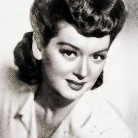 John Springfield - Rosalind Russell, Vintage Actress by John Springfield