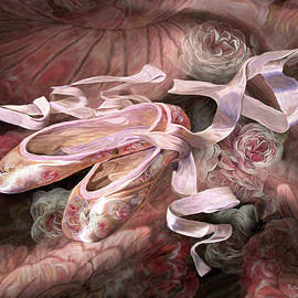 Rose Ballet Shoes by Carol Cavalaris