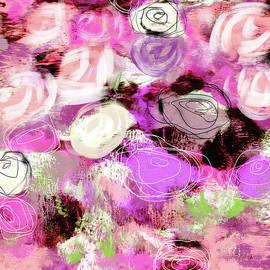 Rose Garden Promise- Art by Linda Woods - Linda Woods