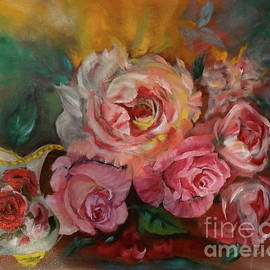 Roses and Cream by Jenny Lee