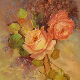 Roses by Farideh Haghshenas