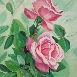 Julie Brugh Riffey - Roses on the Vine