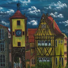 Rothenburg Ob Der Tauber by The GYPSY