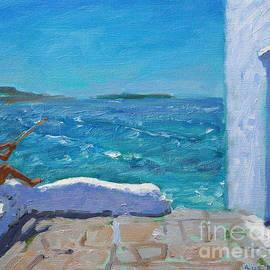 Rough seas, Mykonos - Andrew Macara