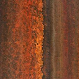 Rough Timber original painting by Sol Luckman