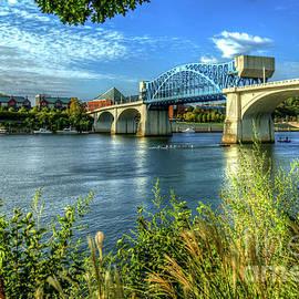 Reid Callaway - Row Row Row John Ross Bridge Chattanooga Tennessee River Art