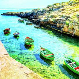 Rowboats by Dominic Piperata