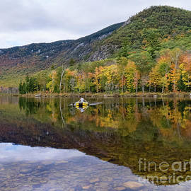 Rower, The Basin, Evans Notch,  New Hampshire #70167 by John Bald