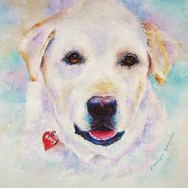 Labrador Retriever Painting by Carolyn Gray