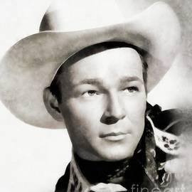 John Springfield - Roy Rogers, Vintage Actor