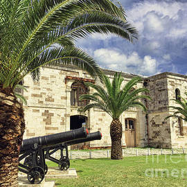 Royal Naval Dockyard Fort by Luther Fine Art