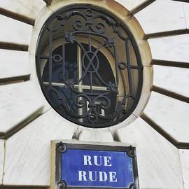 Rue Rude, Paris by Frank DiMarco
