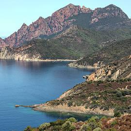 rugged coastline La Scandola - Corsica - Joana Kruse