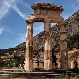 Ruins Of Tholos Temple by Jaroslaw Blaminsky