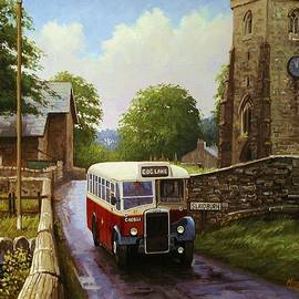 Rural Leyland single-decker. - Mike Jeffries