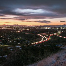 Rush Hour In Salt Lake City by James Udall