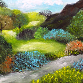 Rushing Creek  by Sandra Young  Servis