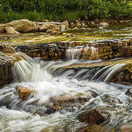 Rushing Waters - Upper Provo River by TL Mair