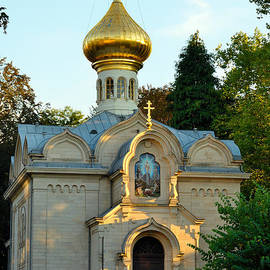 Elzbieta Fazel - Russian Church in Baden-Baden, Germany