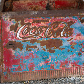Thomas Marchessault - Rusted Coca Cola Cooler