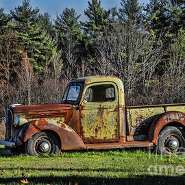 Alana Ranney - Rusted Green Old Truck