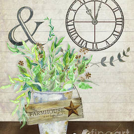 Audrey Jeanne Roberts - Rustic Farmhouse Our Happy Place