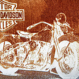 Kevin Anderson - Rustic Harley Sign