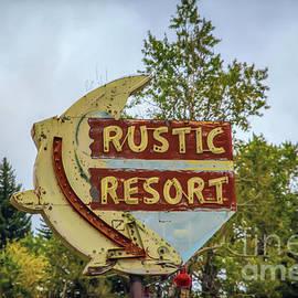 Lynn Sprowl - Rustic Resort Sign