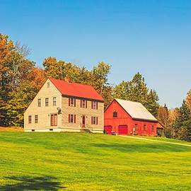 library of congress - rustic vermont in autumn