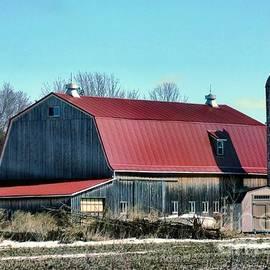 Rustic Wooden Barn  by Elizabeth Duggan