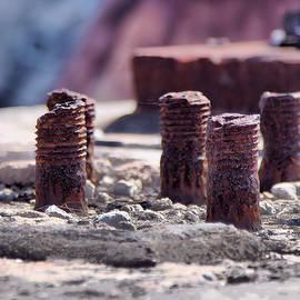 Rusting Bolts by Gordon Elwell