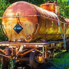 Rusting Oil Tanker Car - Garry Gay