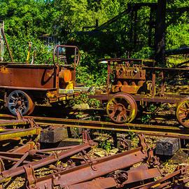 Rusting Railway Cars - Garry Gay