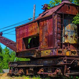 Rusting Train Crane Jamestown - Garry Gay