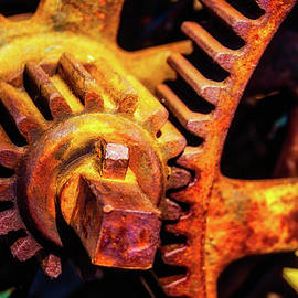 Rusting Train Yard Gear - Garry Gay
