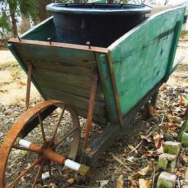 Rusty Wheelbarrow 2 by Maxwell Krem