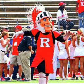 Allen Beatty - Rutgers Scarlet Knight Mascot