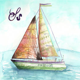 S is for Sailboat by Kristy Lankford