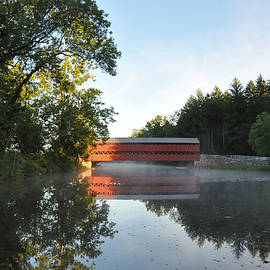 Bill Cannon - Sachs Covered Bridge in the Morning