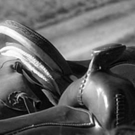 Saddles At The Ready by Amanda Smith