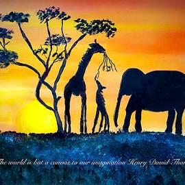 Anne Sands - Safari Imagined