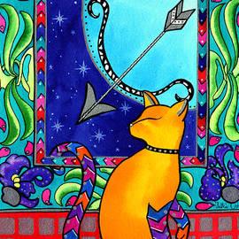 Sagittarius Cat Zodiac by Dora Hathazi Mendes