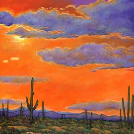Saguaro Sunset by JOHNATHAN HARRIS